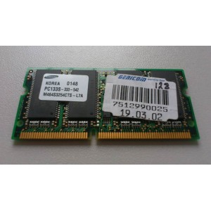 Pamięć RAM SAMSUNG 128MB   SDR PC133S-333-542