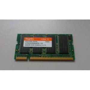 Pamięć RAM  256MB DDR PC2700S 333 CL2.5