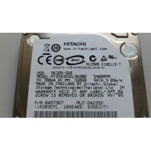 HITACHI 5K320-320 5400 320GB SATA