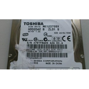 Toshiba MK1237GSX 120GB SATA