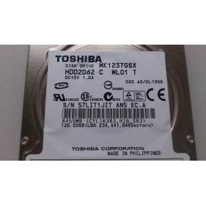 Toshiba  120GB sATA MK1237GSX